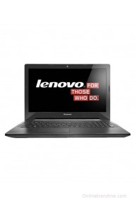 Lenovo G50-30 Notebook (80G001VNIN) (Intel Pentium Quad Core- 4GB RAM- 500GB HDD- 39.62 cm (15.6)- DOS) (Black)