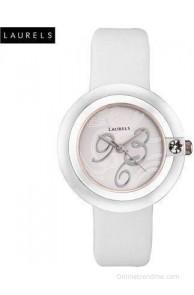 Laurels LL-Pr-White Princess Analog Watch - For Women