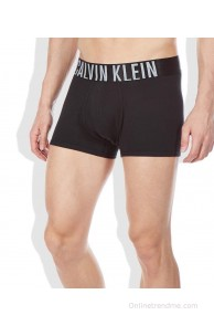 Calvin Klein Underwear Black Cotton Trunk