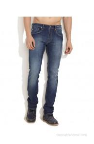 Levi's Dark Blue Flattering Skinny Straight Fit Jeans