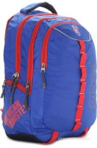 American Tourister 14 inch Laptop Backpack(Blue)