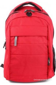 American Tourister Cyber C3L Laptop Backpack(Red, Size - 16.5)