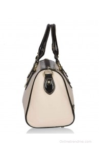 Bagkok Beige Satchel Bag