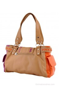 Butterflies BNS0388 Beige Shoulder Bag