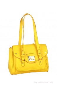 Caprese Brenda Satchel Small Yellow