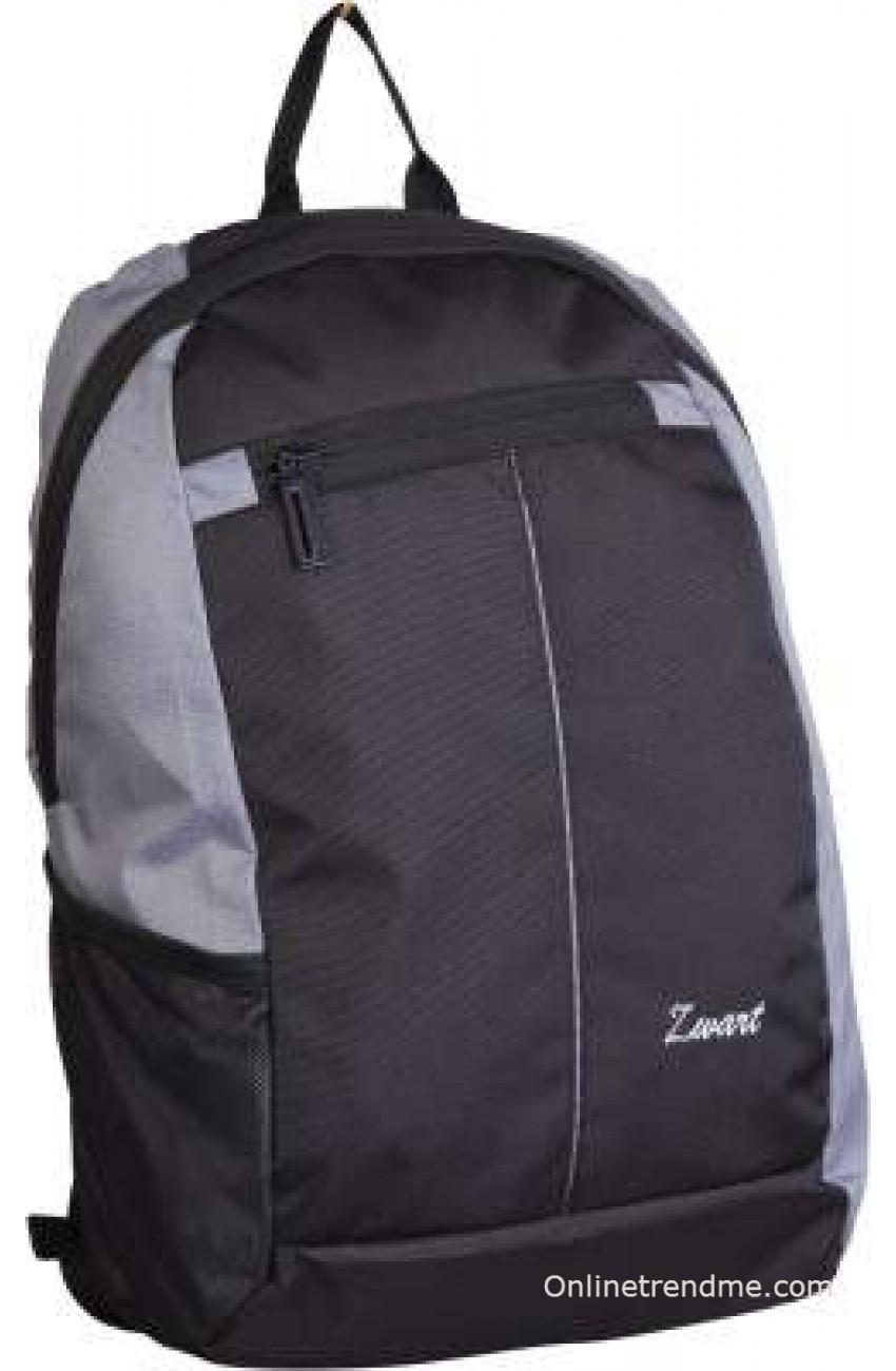 9bda853a6b Zwart Basic 18 L Small Laptop Backpack(Grey