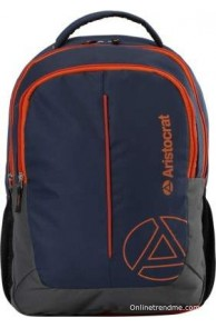 Aristocrat Laptop Backpack(Blue)