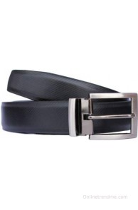 Discover Fashion Men, Boys Black Genuine Leather Belt(black-1)