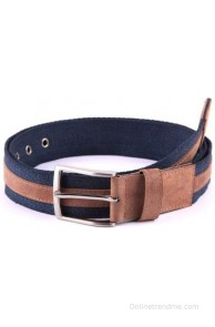 Bluth Men, Women Casual Blue Belt(Blue)