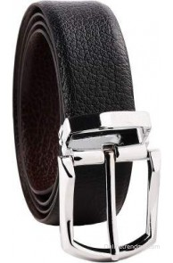 B&W Men Formal, Evening, Party Black, Brown Genuine Leather Reversible Belt(Black, Brown)