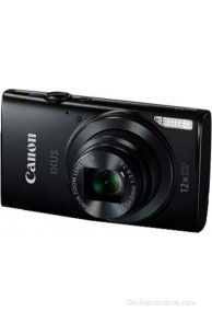 Canon Digital IXUS 170 Point & Shoot Camera(Black)