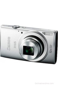 Canon Digital IXUS 170 Point & Shoot Camera(Silver)