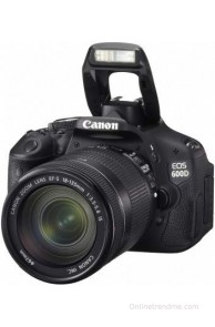 Canon EOS 600D (Body with EF-S 18-135 mm IS II Lens) DSLR Camera(Black)
