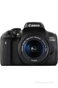 Canon EOS 750D Kit (EF-S 18 - 55 mm IS STM) DSLR Camera(Black)