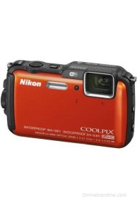 Nikon Coolpix AW120 Point & Shoot Camera(Orange)