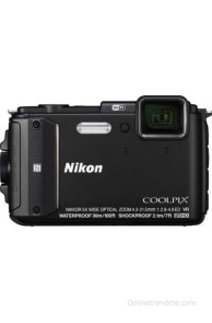 Nikon Coolpix AW130 Point & Shoot Camera(Black)