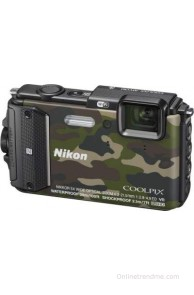 Nikon Coolpix AW130 Point & Shoot Camera(Camouflage)