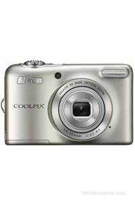 Nikon Coolpix L30 Point & Shoot Camera(Silver)