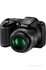Nikon Coolpix L340 Point & Shoot Camera(Black)