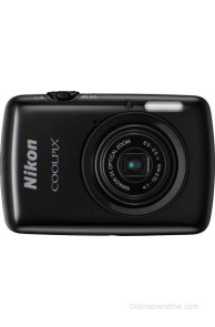 Nikon Coolpix S01 Point & Shoot Camera(Black)