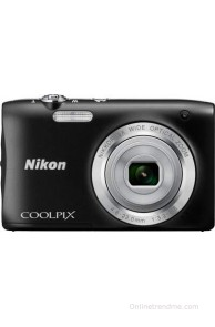 Nikon Coolpix S2900 Point & Shoot Camera(Black)