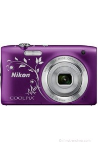 Nikon Coolpix S2900 Point & Shoot Camera(Design Purple)