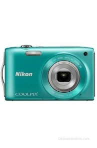 Nikon Coolpix S3300 Point & Shoot Camera(Green)
