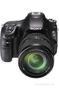 Sony Alpha SLT-A58M (Body with 18 - 135 mm Lens) DSLR Camera(Black)
