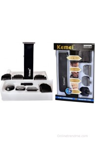 Kemei Professional km-3580 Grooming Kit For Men(Black)