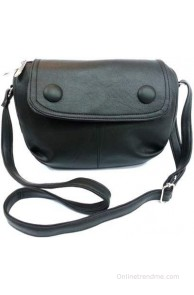 Belladona Girls, Women Casual, Formal Black Leatherette Sling Bag