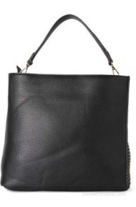 Allen Solly Women Black Leatherette Sling Bag