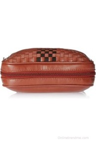 Caprese Girls, Women Brown Leatherette Sling Bag
