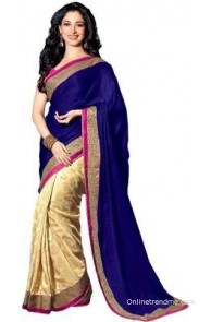 Sareeberry Embriodered Fashion Rayon Sari