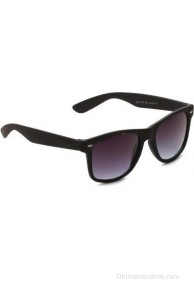Camerii Wayfarers Black Rectangular Sunglasses
